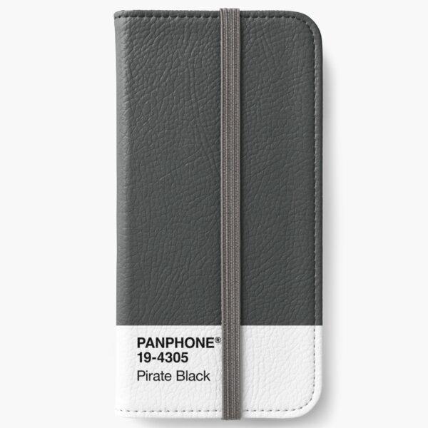 PANPHONE - Pirate Black iPhone Wallet