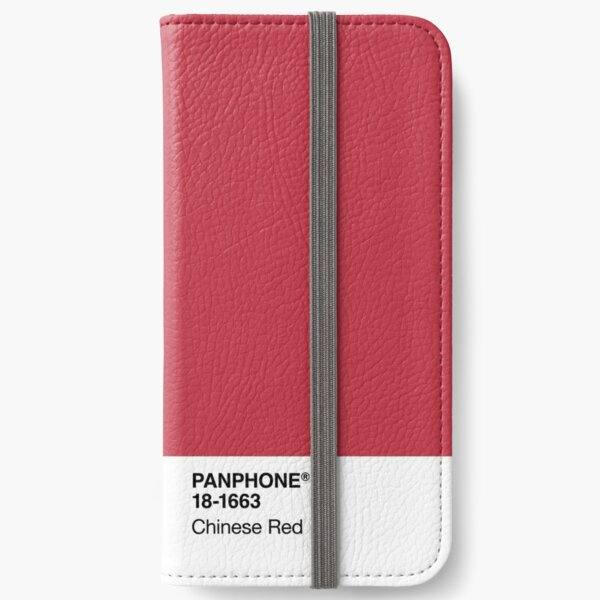 PANPHONE - Chinese Red iPhone Wallet