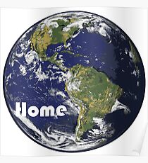 Earth - Home Poster