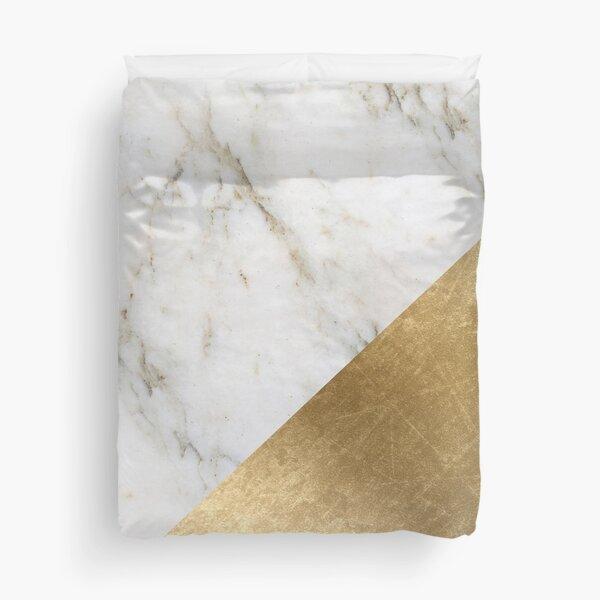 Artico golden marble  Duvet Cover