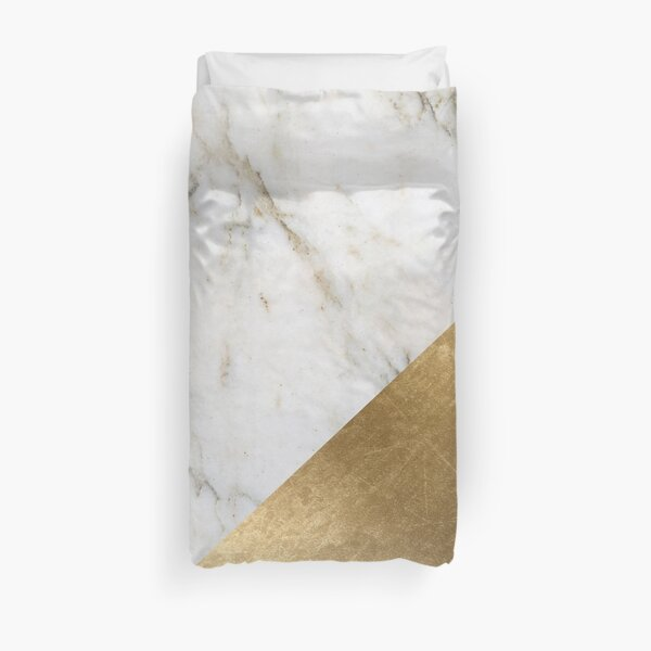 Artico golden marble  Duvet Cover