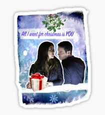 A Skyeward Christmas Sticker