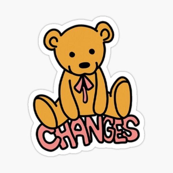 Cambios oso Pegatina