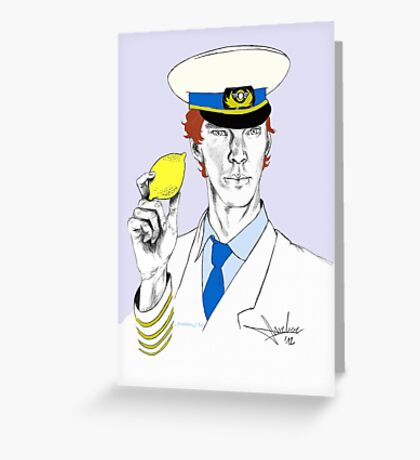 The Lemon has been found. Greeting Card