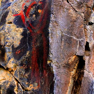 Ice Age Rock Art from Oregon by fnature