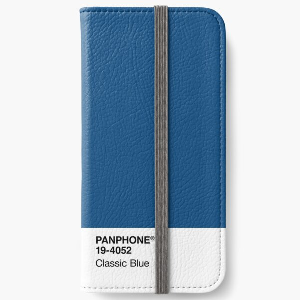 PANPHONE - Classic Blue iPhone Wallet
