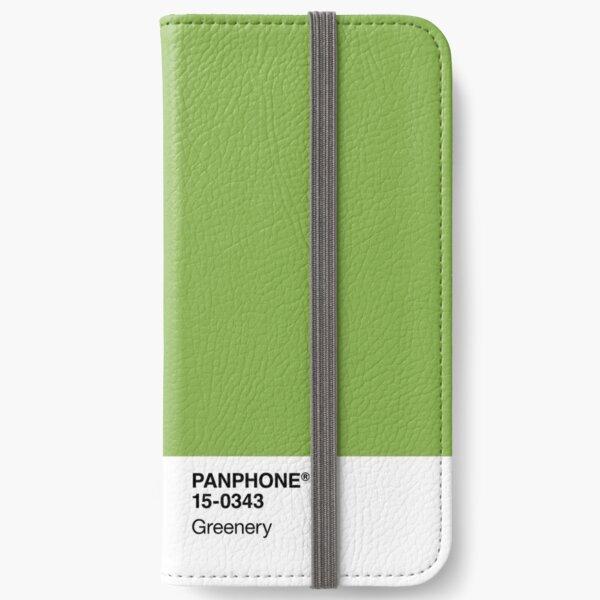 PANPHONE - Greenery iPhone Wallet