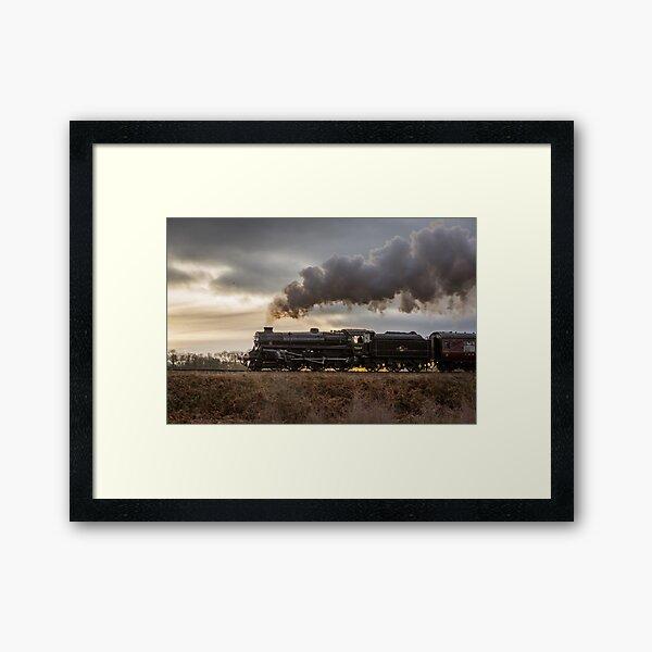 75069 crossing the Rifle Range Framed Art Print