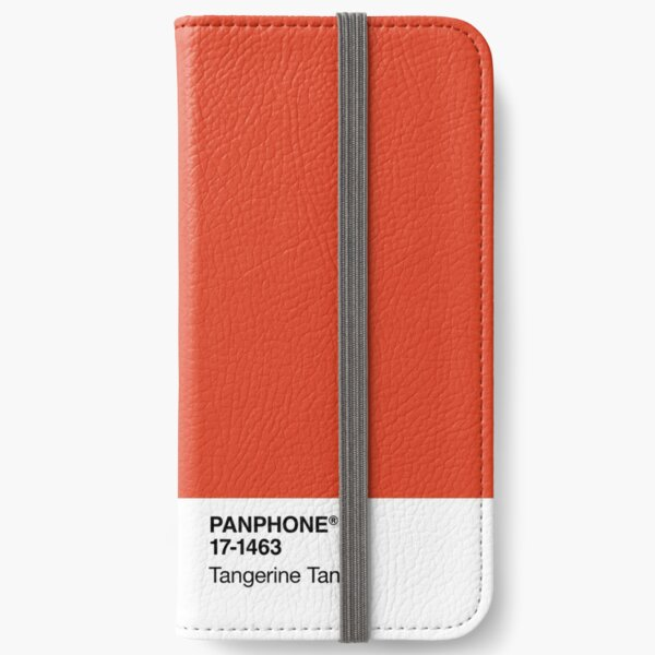 PANPHONE - Tangerine Tango iPhone Wallet