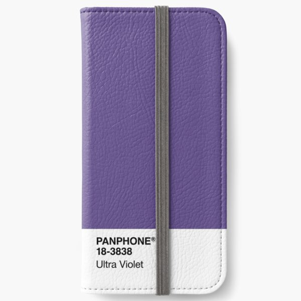 PANPHONE - Ultra Violet iPhone Wallet