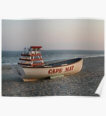 Cape May Calm Poster