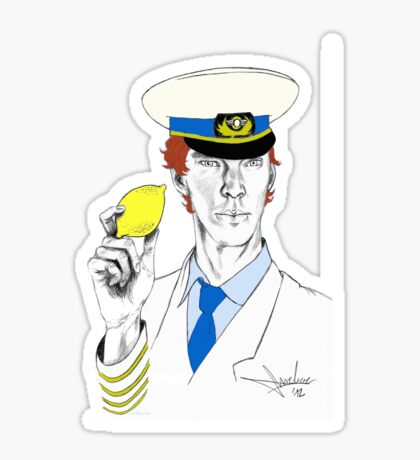 The Lemon has been found. Sticker