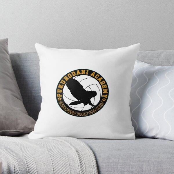Haikyuu!! Fukurodani VBC Logo Throw Pillow
