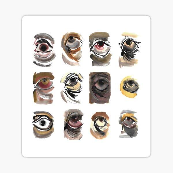 Visual Study Grid Sticker
