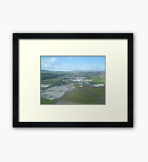 Isle of Man Airport Ronaldsway Framed Print
