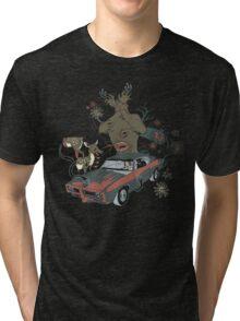 Psilocybe Ride Tri-blend T-Shirt