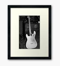 Graham Wood Drout's Strat Framed Print
