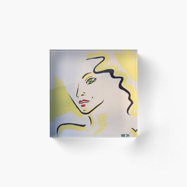 Face No. 1 Acrylblock