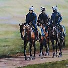 Early Spring, Warren Hill Newmarket by Stephanie Greaves