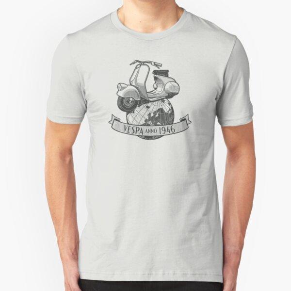 Vespa Anno 1946 Slim Fit T-Shirt