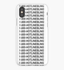 Hotline Bling - Black iPhone Case
