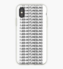 Hotline Bling - Black iPhone Case