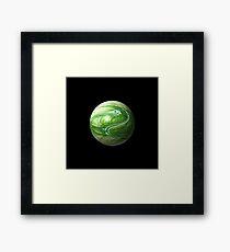 Fractal Marble Framed Print