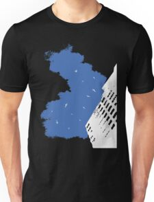 The Battleground Is Everywhere (blue, no text) Unisex T-Shirt
