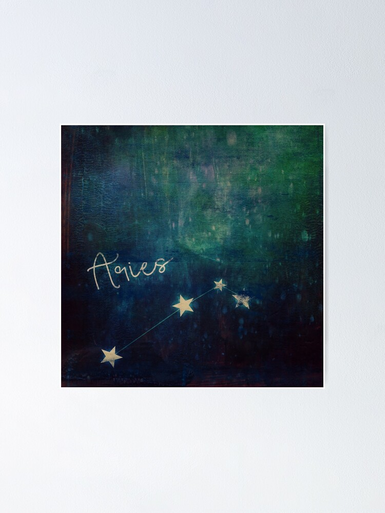 Alternate view of Aries Poster