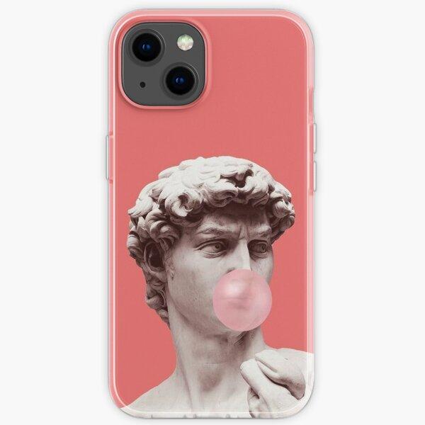 Greek Statue Chewing Gum iPhone Soft Case