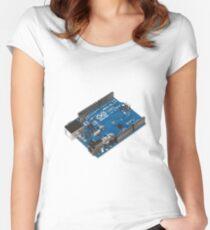 Arduino Board Women's Fitted Scoop T-Shirt