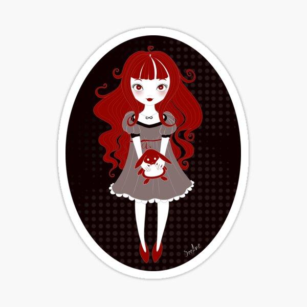 Ghost Poppie Sticker