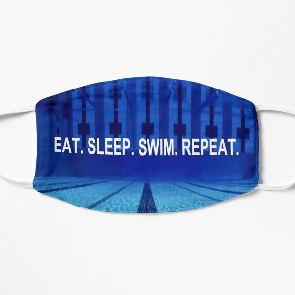 Swimming Inspirational Quote Mask