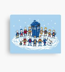 Doctor Whoville - Holiday Christmas Shirt Canvas Print