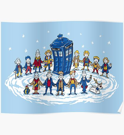 Doctor Whoville - Holiday Christmas Shirt Poster
