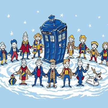 Doctor Whoville - Holiday Christmas Shirt by ianleino