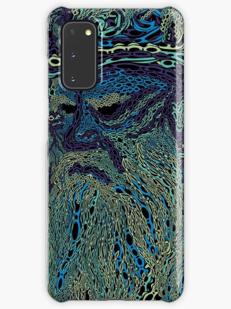 Tolstoy Psychedelic Wallpaper Case Skin For Samsung Galaxy By Grebenru Redbubble