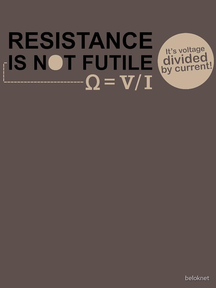 Resistance Is Not Futile by beloknet