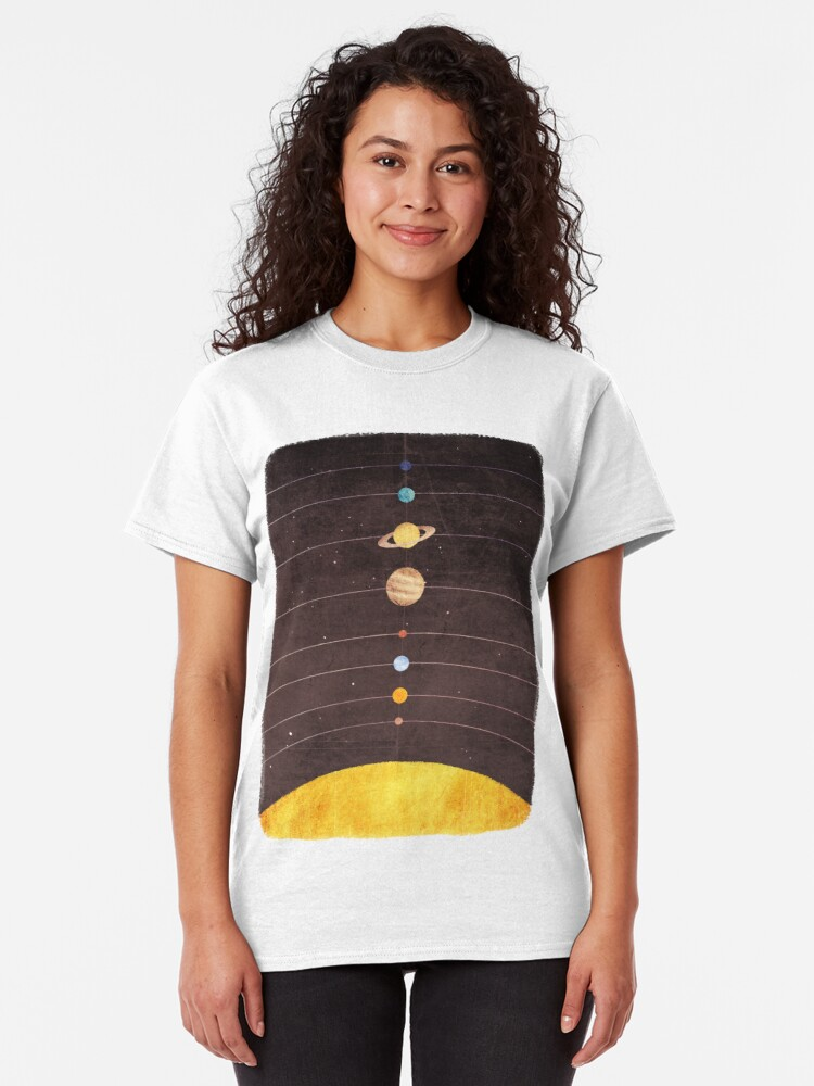 Alternate view of Solar System Classic T-Shirt
