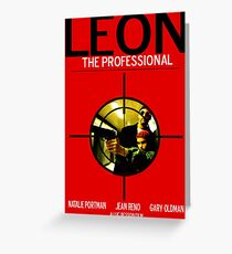 Leon: The Professional Greeting Card