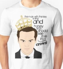 You should see Moriarty in a crown Unisex T-Shirt