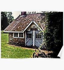 BlackSmith's Shop, Ringwood Manor, Ringwood NJ Poster