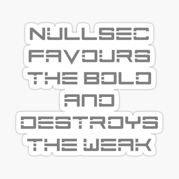 NullSec Sticker