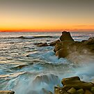 Long Bay Sunrise by Mark  Lucey