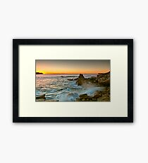 Long Bay Sunrise Framed Print