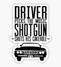 Supernatural quote Sticker