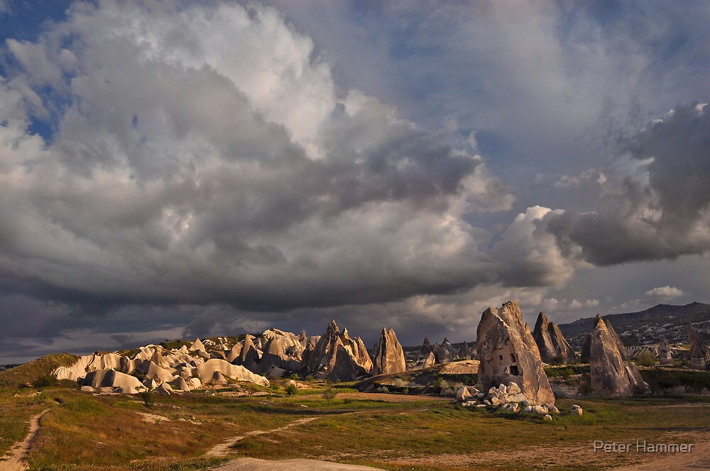 Tufa Houses at Sunset by Peter Hammer