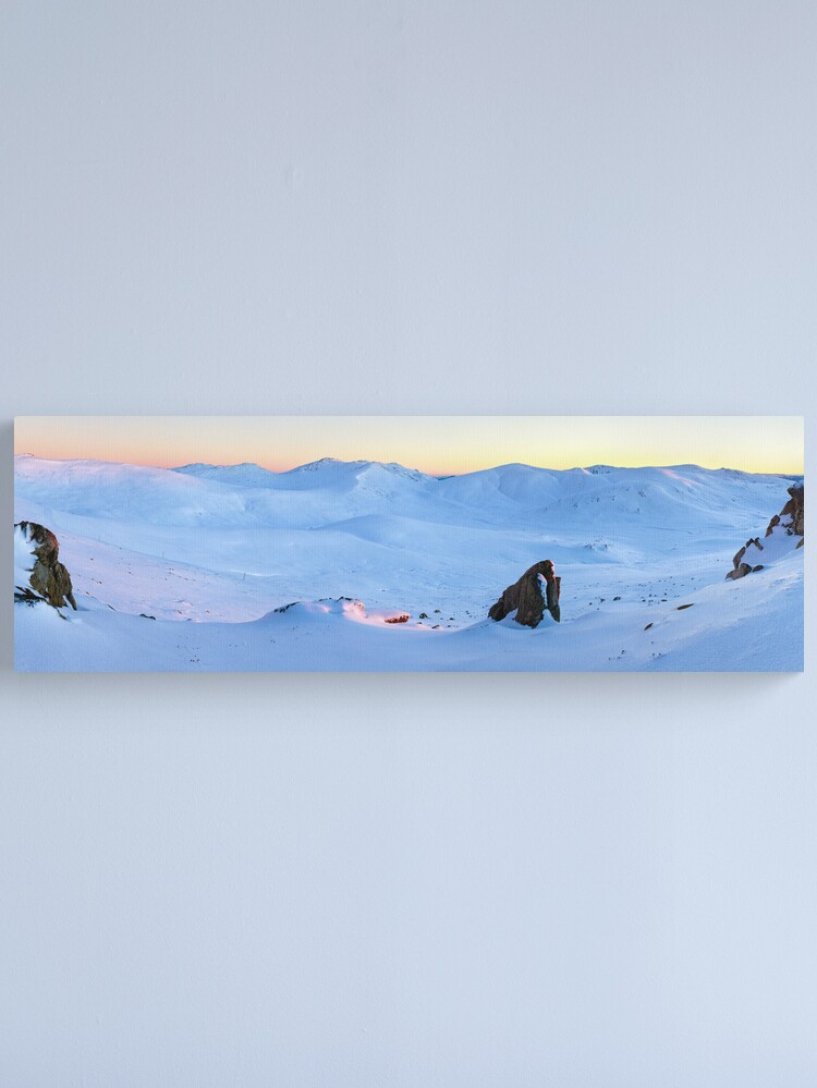 Alternate view of Kosciuszko Main Range, New South Wales, Australia Canvas Print