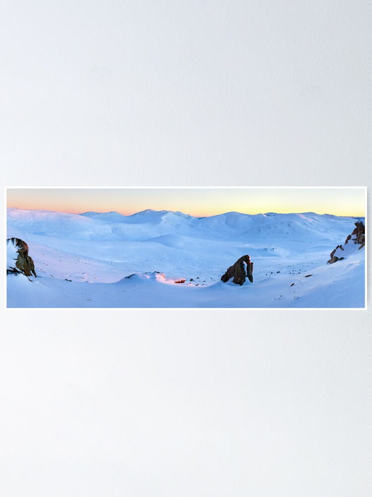 Alternate view of Kosciuszko Main Range, New South Wales, Australia Poster