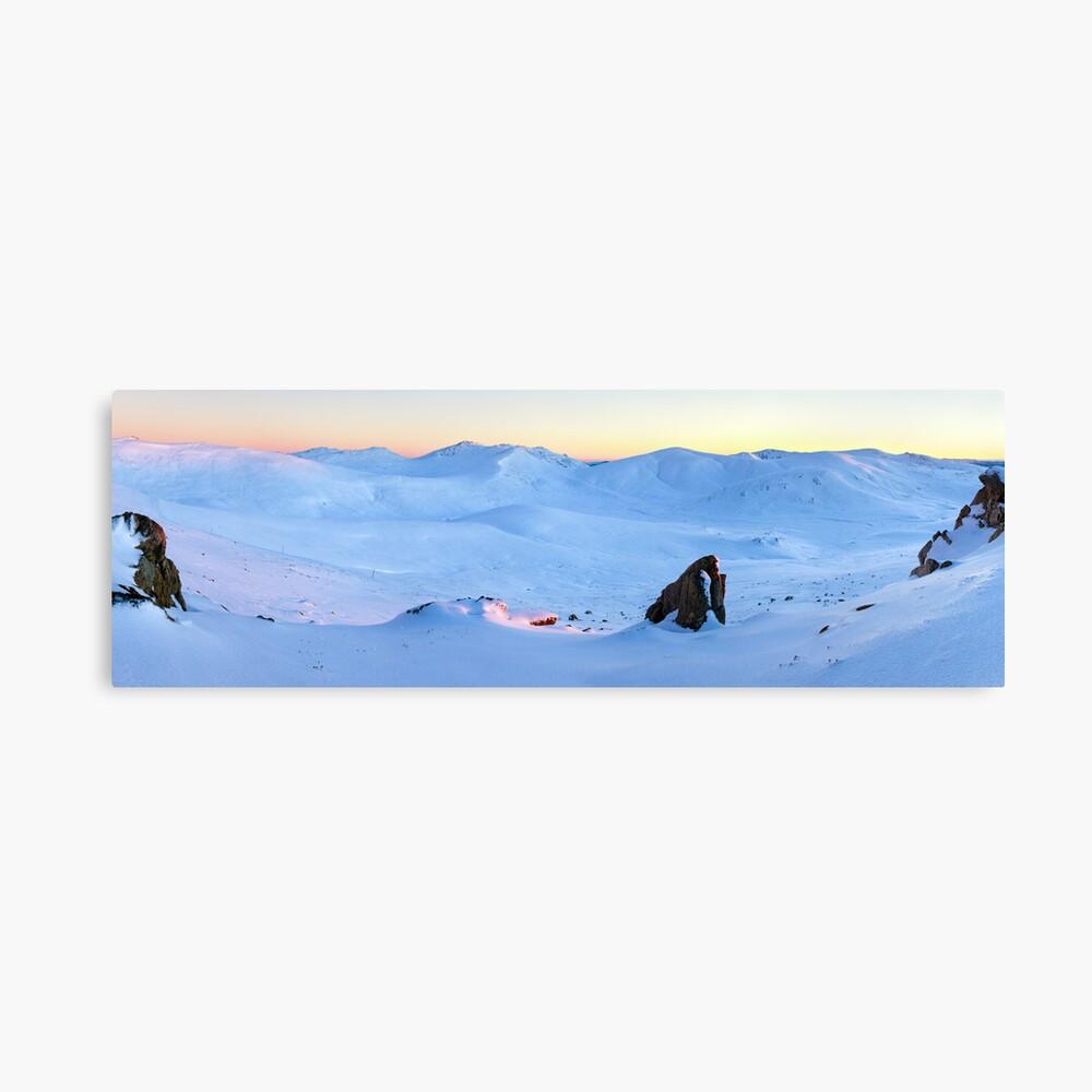 Kosciuszko Main Range, New South Wales, Australia Canvas Print